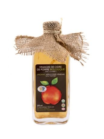 "Organic apple cider vinegar ""avec la mère&qu..."