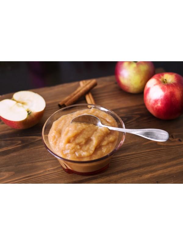 Unsweetened organic applesauce